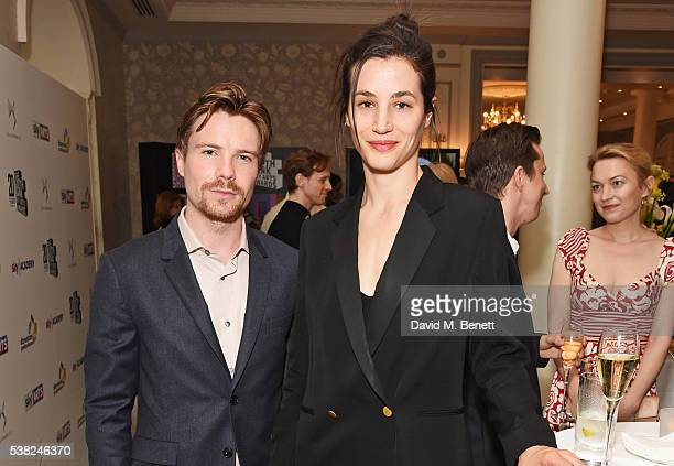 Joe Dempsie and Elisa Lasowski attend the The South Bank Sky Arts Awards airing on Wednesday 8th June on Sky Arts at The Savoy Hotel on June 5 2016...