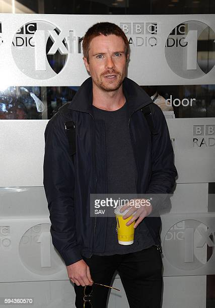 Joe Dempsie at BBC Radio 1 on August 23 2016 in London England