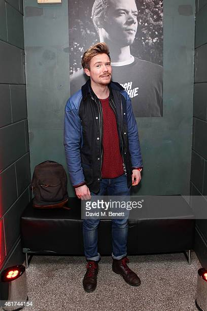 Joe Dempsie attends the 4G livestreamed gig with RUNDMC and Raleigh Richie at Scala on January 18 2015 in London England