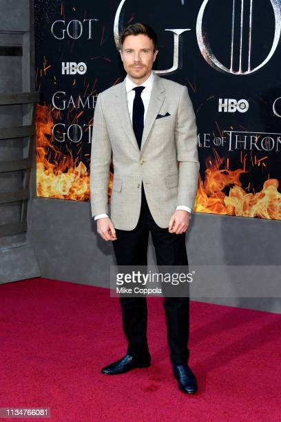Joe Dempsie attends the Game Of Thrones season 8 premiere on April 3 2019 in New York City