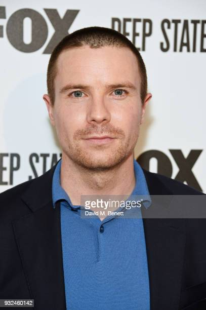 Joe Dempsie attends the Global Premiere of 'Deep State' the new espionage thriller from FOX at The Curzon Soho on March 15 2018 in London England