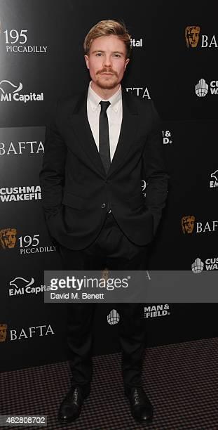 Joe Dempsie attends the inaugural BAFTA Film Gala Dinner raising funds for the 'Give Something Back' campaign at BAFTA on February 5 2015 in London...