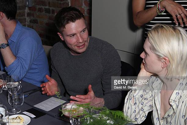 Joe Dempsie attends the Whistles menswear launch dinner on April 30 2014 in London England
