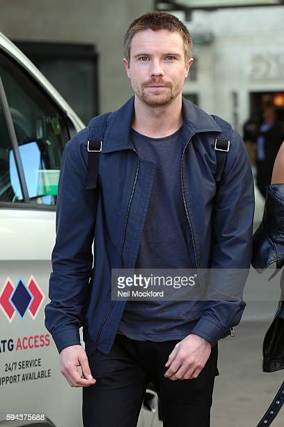 Joe Dempsie is seen at BBC Radio One on August 23 2016 in London England