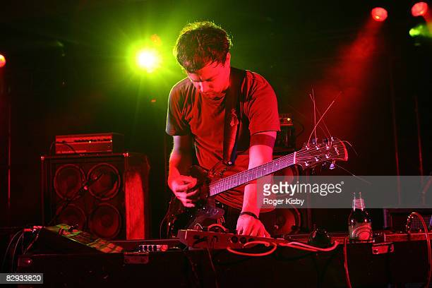 Joe Denardo of Growing performs onstage during the ATP New York 2008 music festival at Kutshers Country Club on September 20, 2008 in Monticello, New...