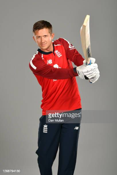 Joe Denly of England poses during the England Squad Portrait Session at Emirates Old Trafford on August 26 2020 in Manchester England