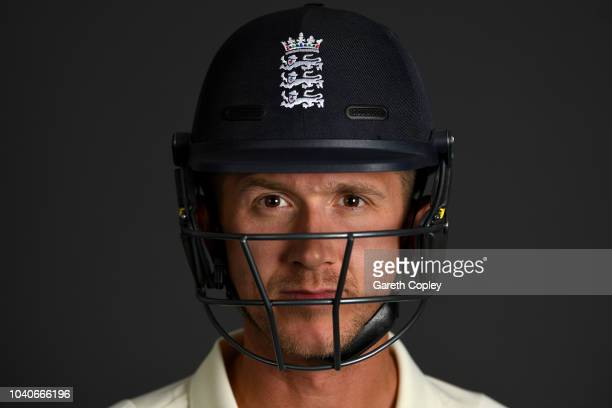 Joe Denly of England poses for a portrait at Edgbaston on September 26, 2018 in Birmingham, England.