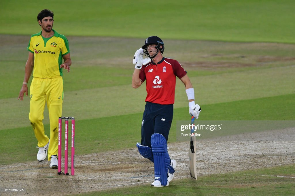 England v Australia - 3rd Vitality International Twenty20 : Fotografía de noticias