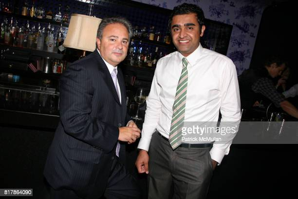 Joe DeVito and Fakhar Jahangir attend INFA Energy Brokers LLC celebrates the release of BRAD SCHAEFFER's 'Hummel's Cross' at Provocateur on September...