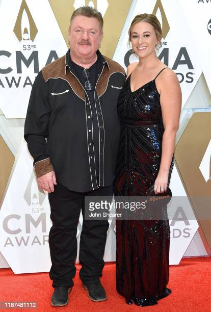 Joe Diffie and guest attend the 53rd annual CMA Awards at the Music City Center on November 13, 2019 in Nashville, Tennessee.