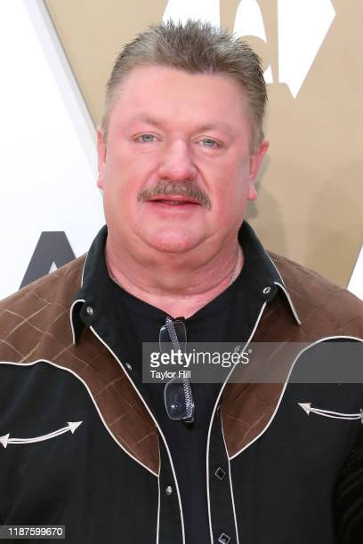 Joe Diffie attends the 53nd annual CMA Awards at Bridgestone Arena on November 13 2019 in Nashville Tennessee