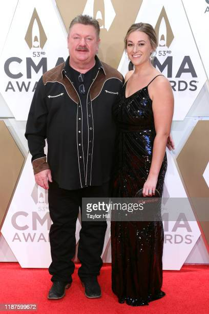 Joe Diffie attends the 53nd annual CMA Awards at Bridgestone Arena on November 13, 2019 in Nashville, Tennessee.