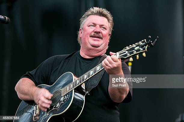 Joe Diffie performs on stage at the Watershed Music Festival 2014 at The Gorge on August 2, 2014 in George, Washington.