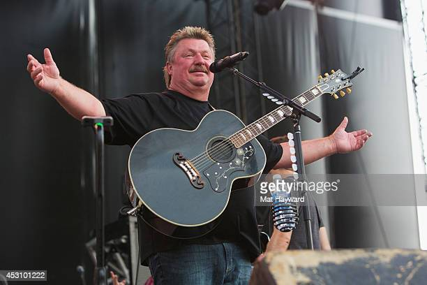 Joe Diffie performs on stage during the Watershed Music Festival at The Gorge on August 2, 2014 in George, Washington.