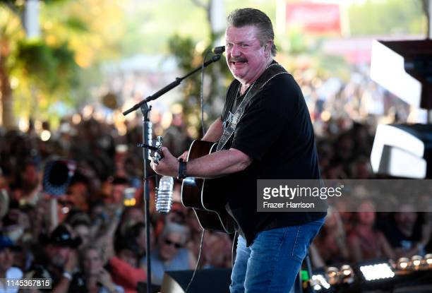 Joe Diffie performs onstage during the 2019 Stagecoach Festival at Empire Polo Field on April 26, 2019 in Indio, California.