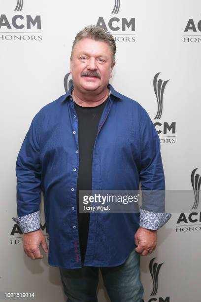 Joe Diffie takes photos during the 12th Annual ACM Honors at Ryman Auditorium on August 22, 2018 in Nashville, Tennessee.