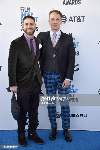 Joe DiPasquale and Jeff Whitty attend the 2019 Film Independent Spirit Awards on February 23 2019 in Santa Monica California