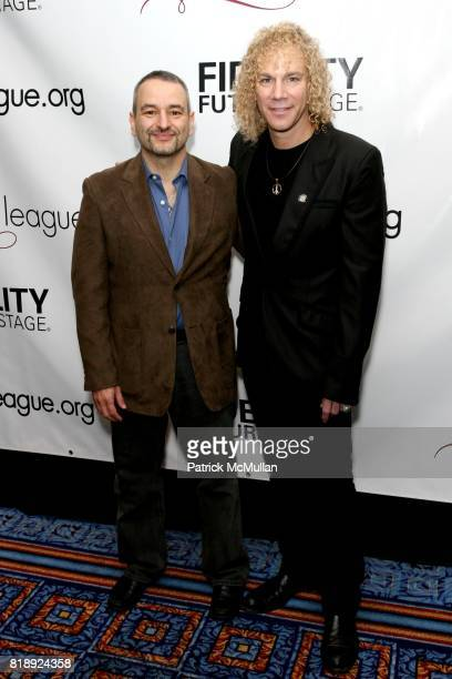 Joe DiPietro and David Bryan attend 76th Annual DRAMA LEAGUE AWARDS Ceremony and Luncheon at Marriot Marquis on May 21 2010 in New York City