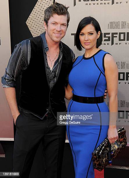 """Joe Don Rooney and Tiffany Fallon arrive for the Los Angeles Premiere of """"Transformers: Revenge Of The Fallen"""" at the Mann's Village Theater in..."""