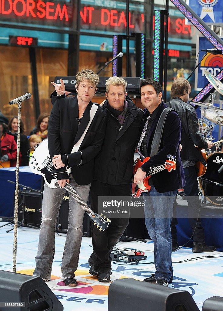 "Rascal Flatts Performs On NBC's ""Today"" - November 21, 2011"
