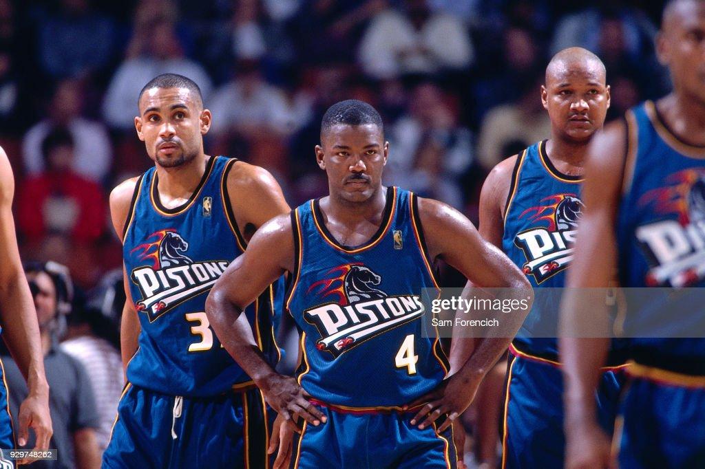 Detroit Pistons v Houston Rockets : News Photo
