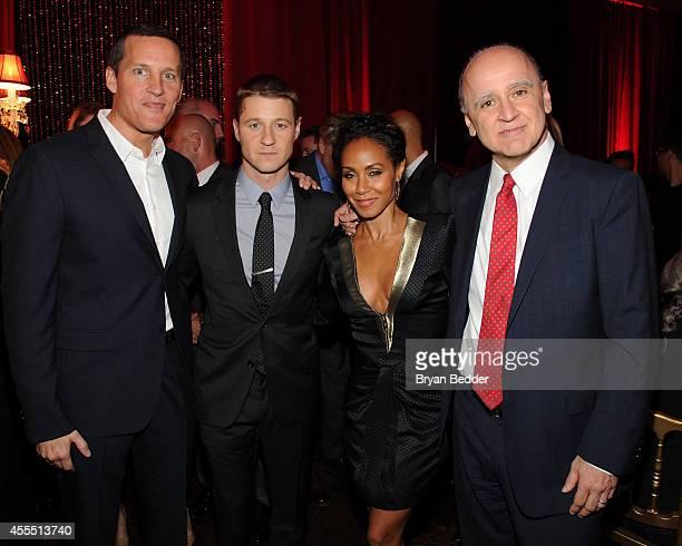 Joe Earley Chief Operating Officer Fox Television Group GOTHAM cast members Ben McKenzie Jada Pinkett Smith and David Madden President Entertainment...