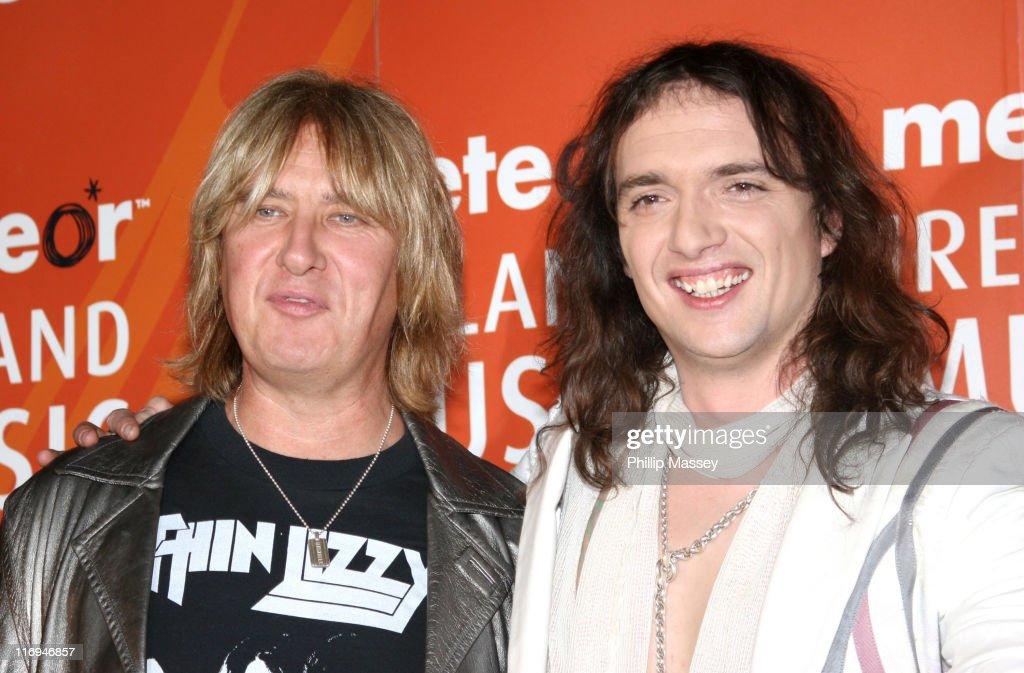Meteor Ireland Music Awards 2006 - Press Room : News Photo