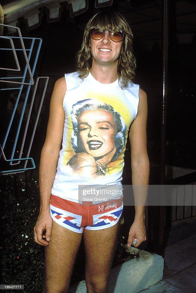 Joe Elliot during Def Leppard File Photos in Los Angeles, California, United States.