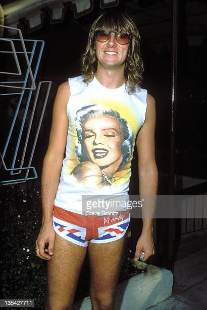 Joe Elliot during Def Leppard File Photos in Los Angeles California United States