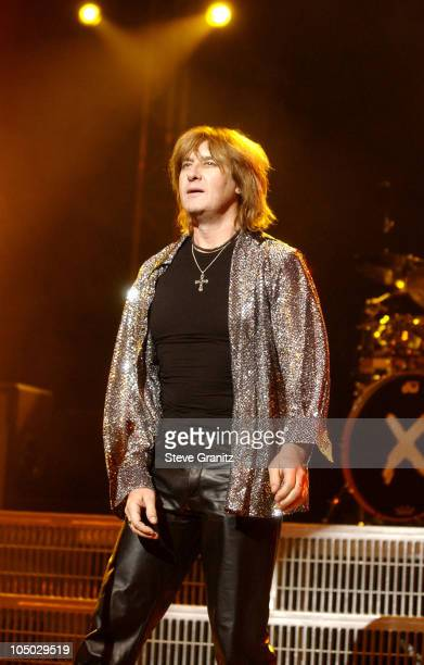 Joe Elliot Of Def Leppard during Def Leppard In Concert - Los Angeles at Universal Amphitheatre in Universal City, California, United States.