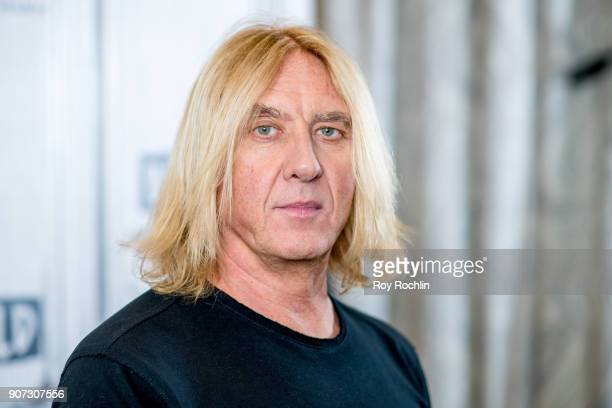 Joe Elliott of Def Leppard discusses their up coming summer tour with the Build Series at Build Studio on January 19 2018 in New York City