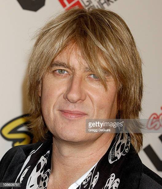 Joe Elliott of 'Def Leppard' during 2005 Spike TV Video Game Awards Arrivals at Gibson Amphitheater in Universal City California United States
