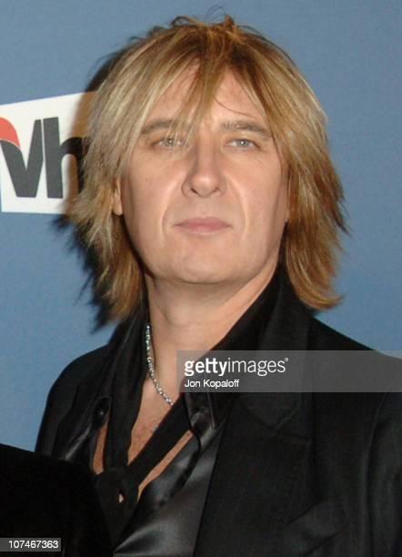 Joe Elliott of Def Leppard during VH1 Big in '05 Arrivals at Sony Studios in Los Angeles California United States