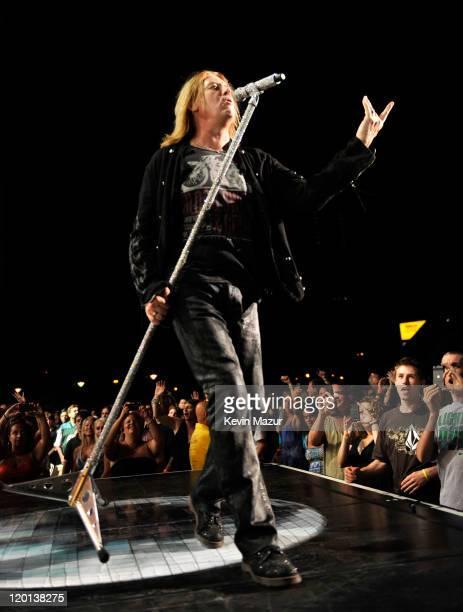 Joe Elliott of Def Leppard performs at Nikon at Jones Beach Theater on July 30, 2011 in Wantagh, New York.