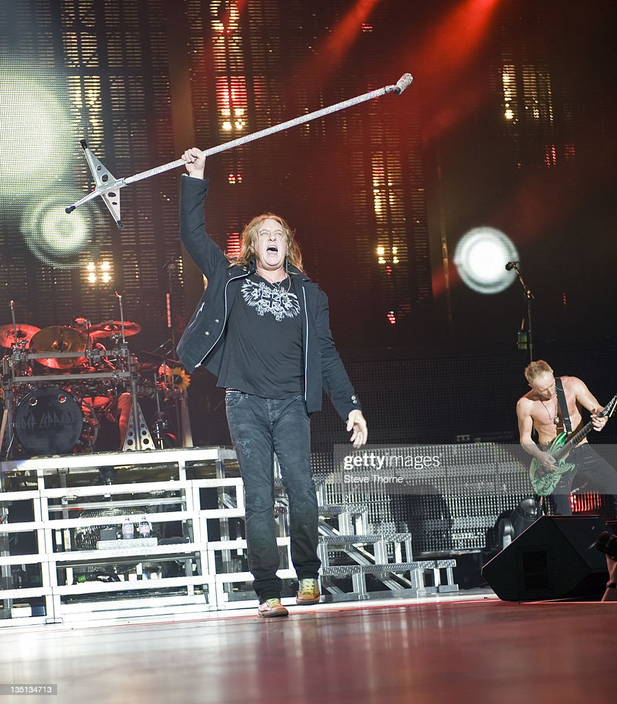 Def Leppard And Motley Crue Perform At LG Arena In Birmingham : News Photo