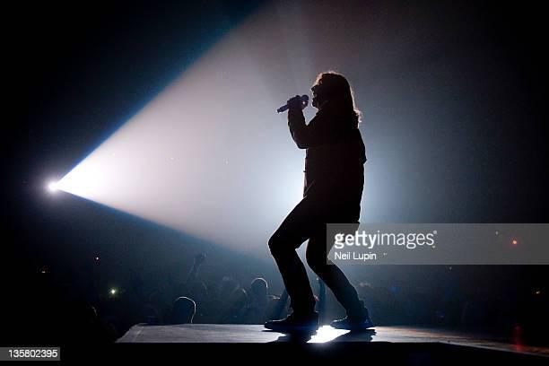 Joe Elliott of Def Leppard performs on stage at Wembley Arena on December 14, 2011 in London, United Kingdom.