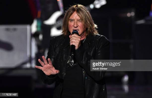 Joe Elliott of Def Leppard performs onstage during the 2019 iHeartRadio Music Festival at T-Mobile Arena on September 21, 2019 in Las Vegas, Nevada.