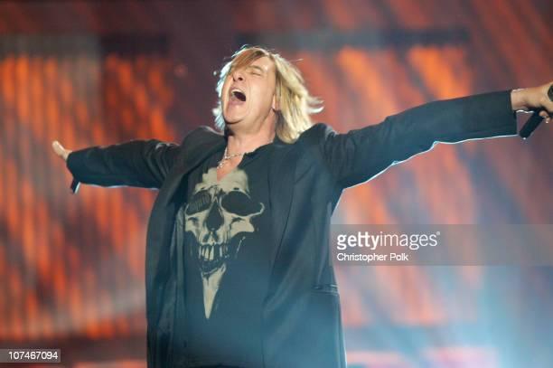 Joe Elliott of Def Leppard performs 'Pour Some Sugar on Me'