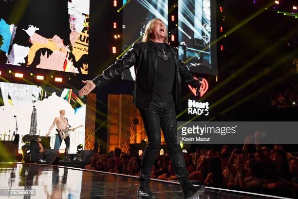 Joe Elliott of of Def Leppard performs onstage during the 2019 iHeartRadio Music Festival at TMobile Arena on September 21 2019 in Las Vegas Nevada