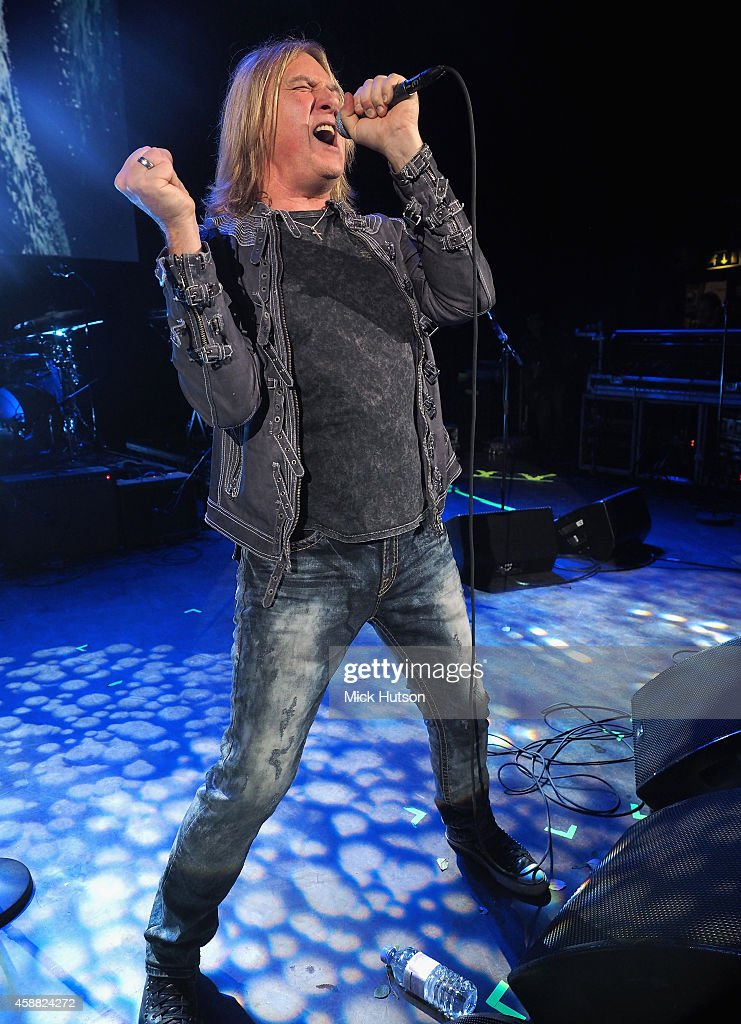 Joe Elliott performs on stage as part of an evening of The Who music in aid of Teenage Cancer Trust, at O2 Shepherd's Bush Empire on November 11, 2014 in London, England.