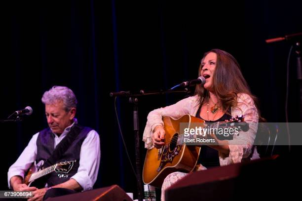 Joe Ely and Carlene Carter perform on The Outlaw Country Cruise from Tampa to Cozumel on March 1 2017