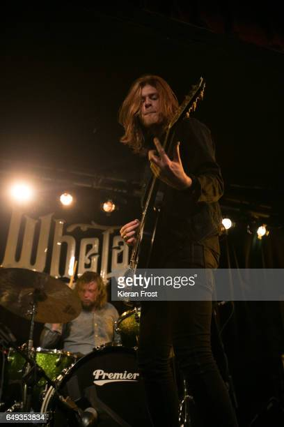 Joe Emmet and Matt Thomson of The Amazons perform at Whelan's on March 7 2017 in Dublin Ireland
