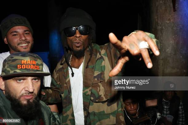 Joe Fatal and Mr Cheeks attend the 13 Sins Album Release Party at SOB's on December 19 2017 in New York City