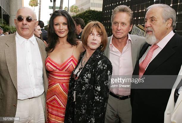 Joe Feury Producer Catherine ZetaJones Lee Grant Director Michael Douglas and George Schlatter