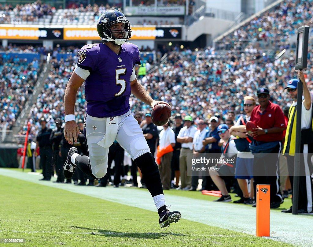 Baltimore Ravens v Jacksonville Jaguars