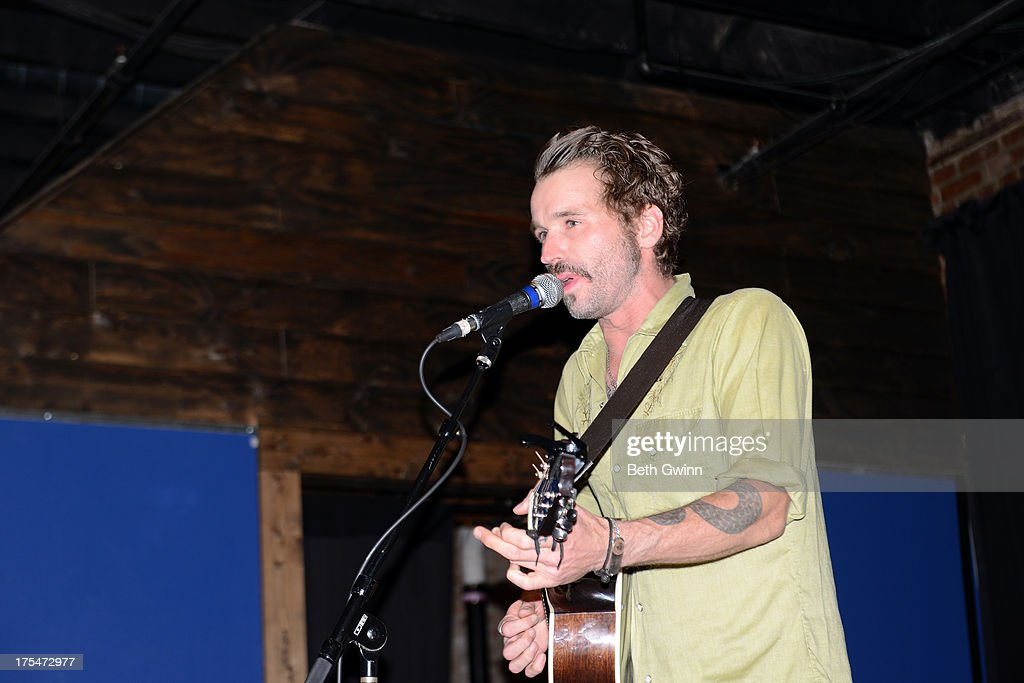 Joe Flecter performs at The High Wiatt on August 3, 2013 in Nashville, Tennessee.