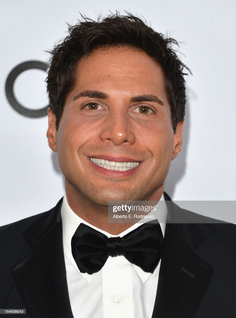 Joe Francis arrives at amfAR's Inspiration Gala at Milk Studios on October 11, 2012 in Hollywood, California.