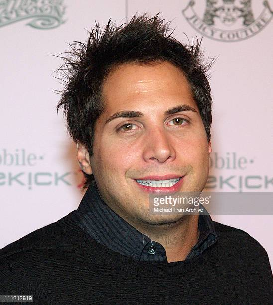 Joe Francis during T-Mobile Limited Edition Sidekick II Launch - Arrivals at T-Mobile Sidekick II City in Los Angeles, California, United States.