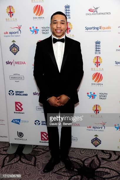 Joe Fraser attends the British Ethnic Diversity Sports Awards 2020 at the Hilton Park Lane on March 14 2020 in London England