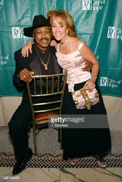 Joe Frazier and Janis Spindel during Hearts for Hope Benefit Dinner and Silent Auction to Benefit City of Hope at Capitale in New York City New York...